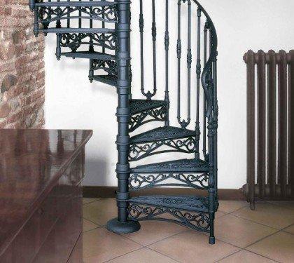 Винтовая чугунная лестница Neri 2050x