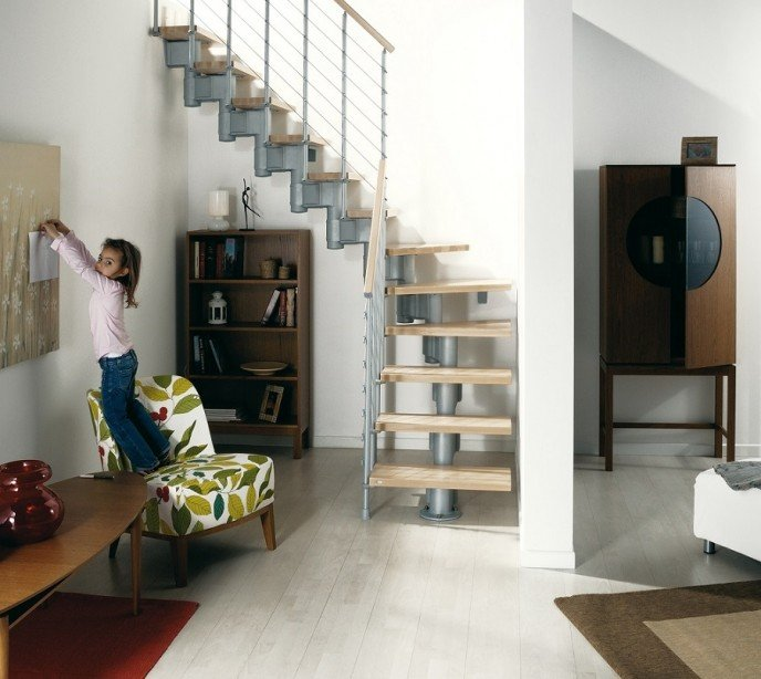 Маршевая лестница Komoda