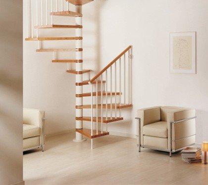 Квадратно-винтовая лестница Genius Q20