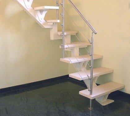 Маршевая лестница на монокосоуре FL One