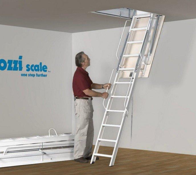 Складная лестница на чердак Aci 3 Speciale