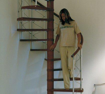 Винтовая лестница с подсветкой Scenik Sport