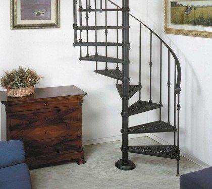 Винтовая металлическая лестница Emme 6