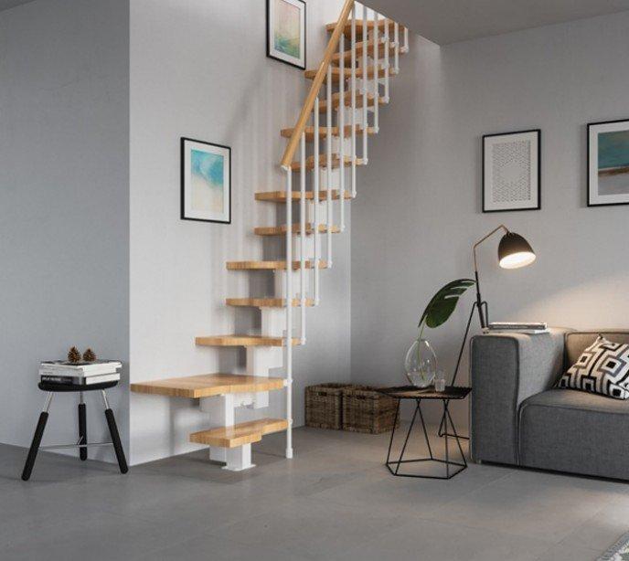 Лестница гусиный шаг Mini Plus