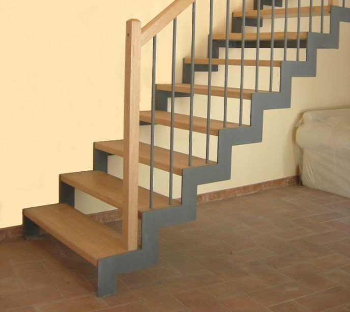 Маршевая лестница Laser 2