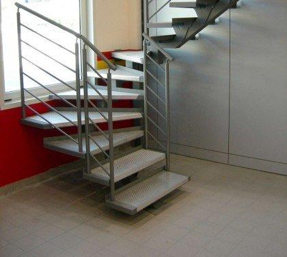 Маршевая лестница на монокосоуре FF1 new