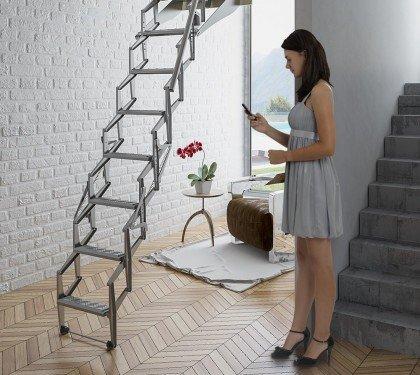 Автоматическая чердачная лестница Soffitta AutoAttic VIP