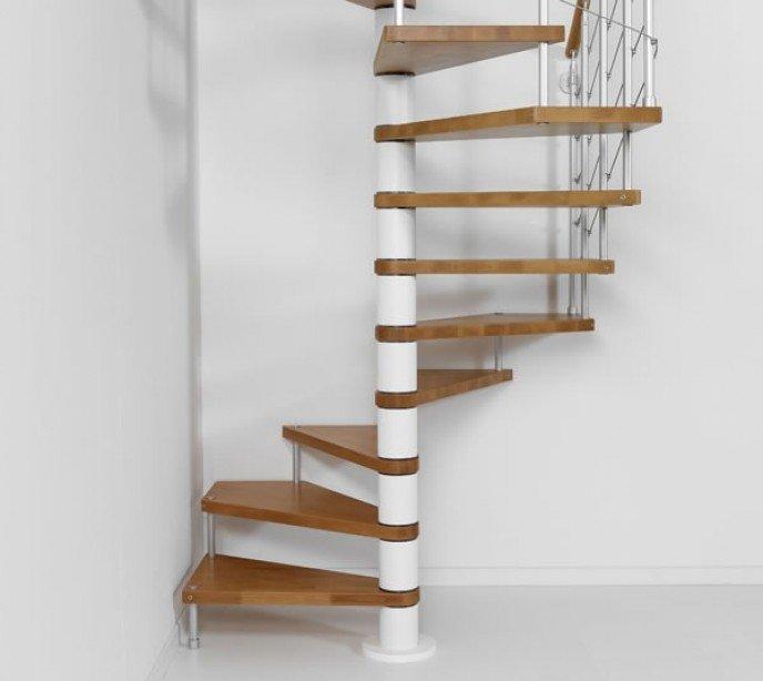 Квадратно-винтовая лестница Genius Q14