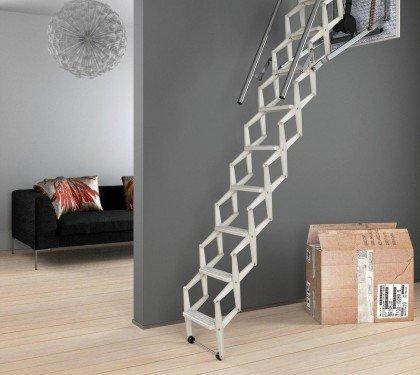 Чердачная лестница с электроприводом Escalmatic Motora