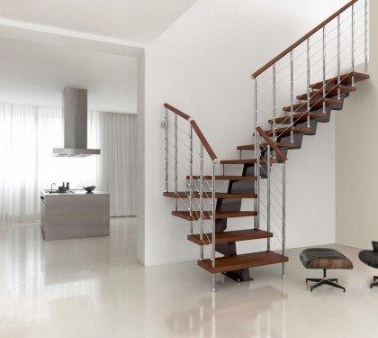Модульная маршевая лестница Genius 050