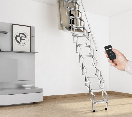 Чердачная лестница с электроприводом Soffitta Motorizzata Base