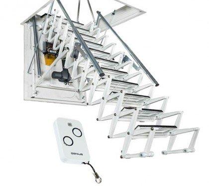 Автоматическая чердачная лестница Aci Motorizzata Италия