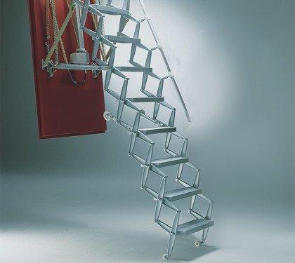 Чердачная лестница с электроприводом Roto Electro