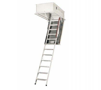 Металлическая чердачная лестница утепленная Wippro Eurostep