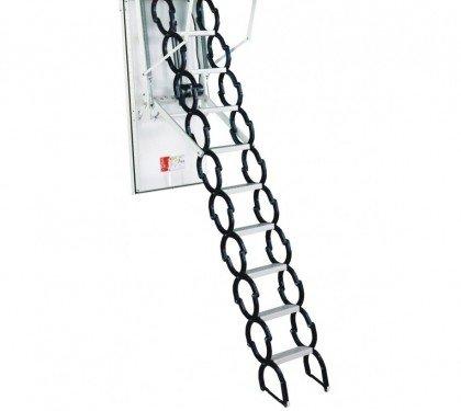 Утепленнная автоматическая лестница на чердак Minka Univers