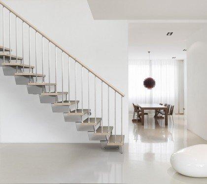 Модульная маршевая лестница Genius 030RA