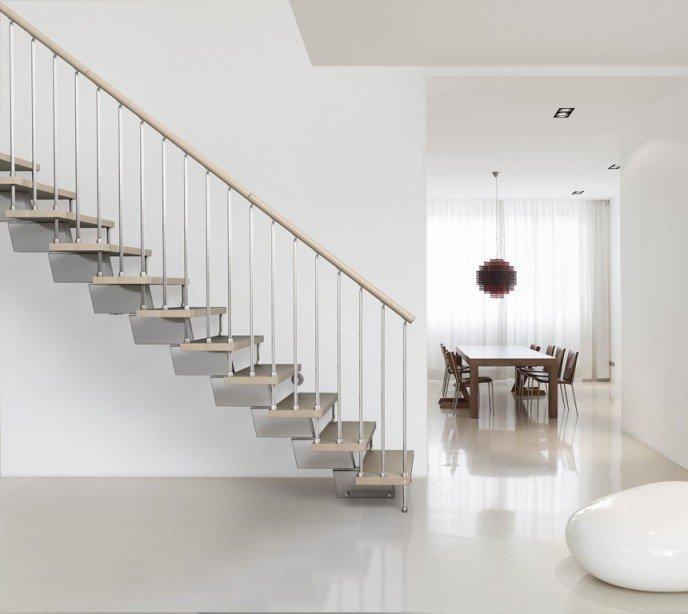 Модульная маршевая лестница Genius 030 RA