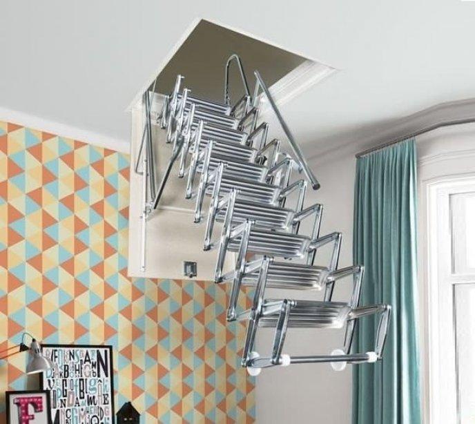 Выдвижная лестница на чердак Svezia