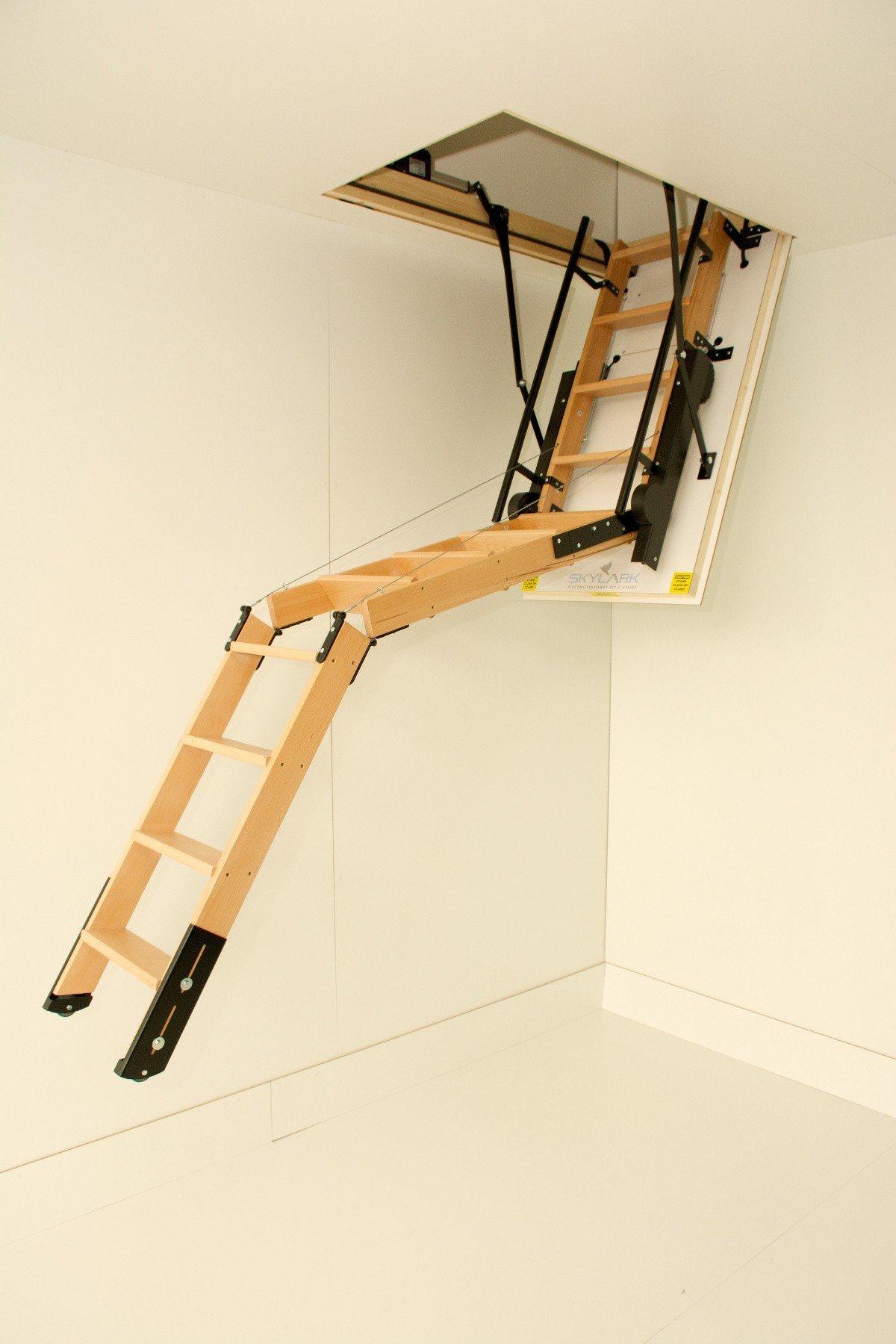 Как сделать лестницу чердачную лестницу