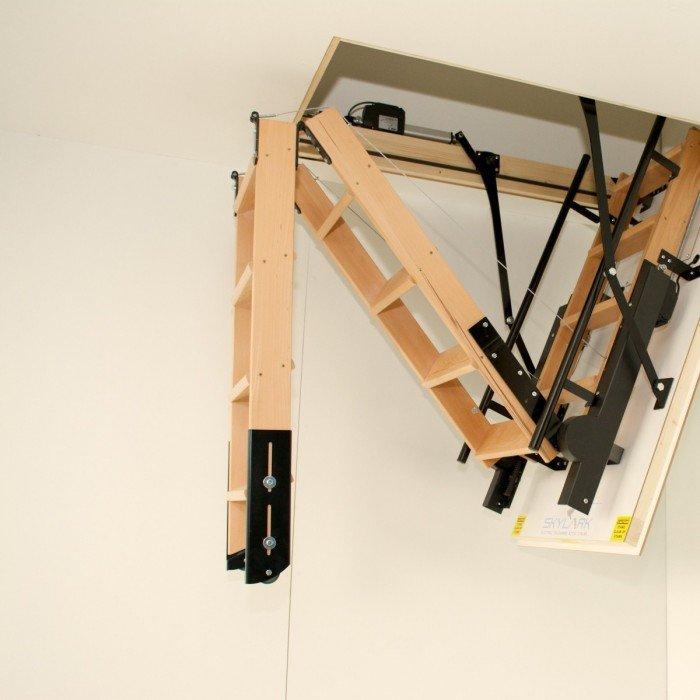 Чердачные лестницы трансформеры своими руками 82