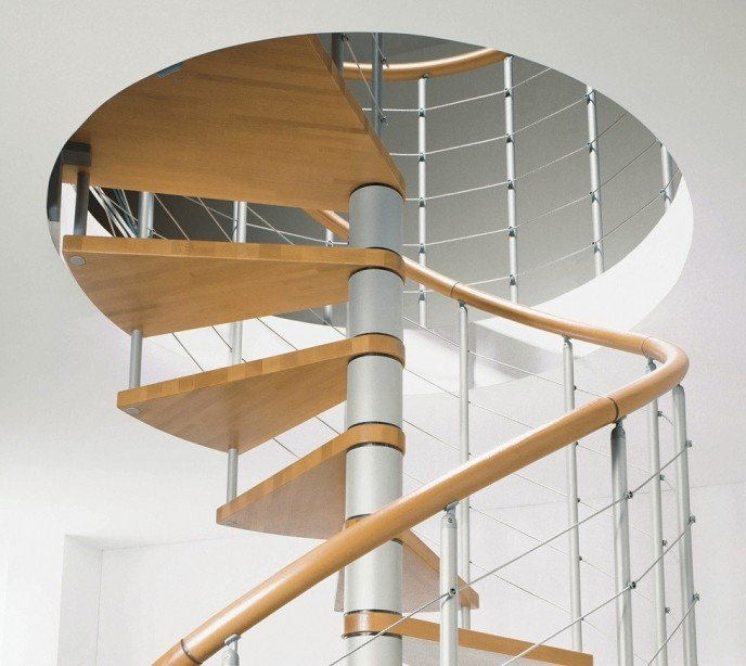 Винтовая лестница Genius T010