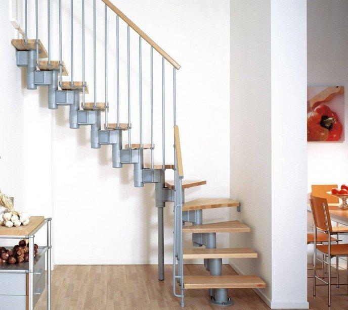 Маршевая лестница Kompact 74