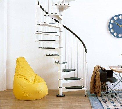 Металлическая винтовая лестница Civik