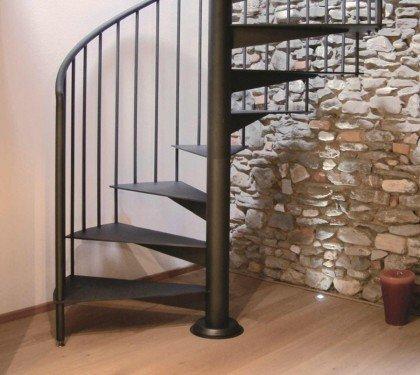 Металлическая винтовая лестница Emme7