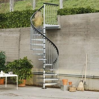Оцинкованные лестницы