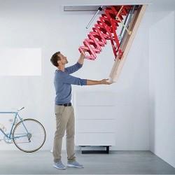 Чердачные металлические лестницы