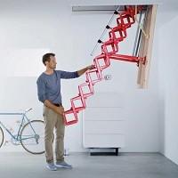 Металлические чердачные лестницы